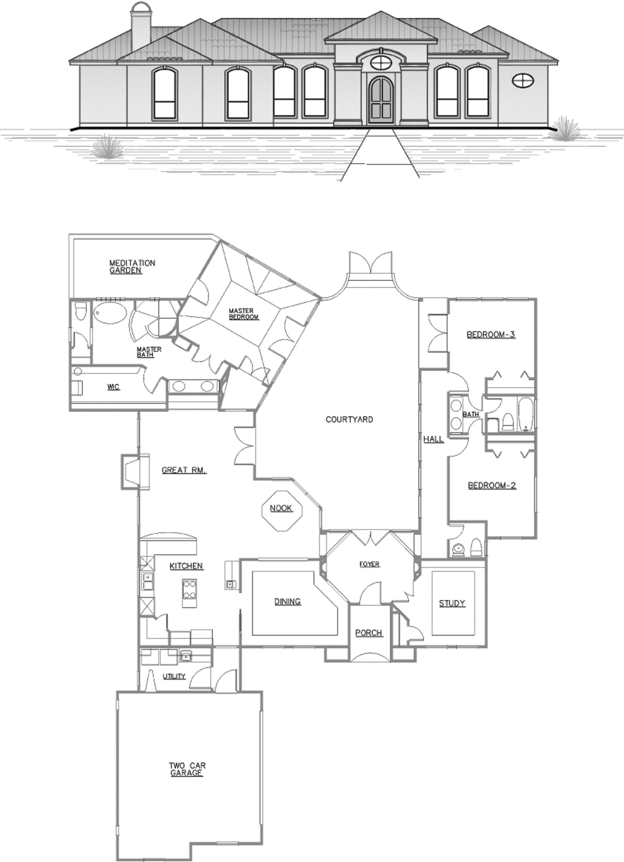 Tuscana Floor Plan River Hills Custom Homes