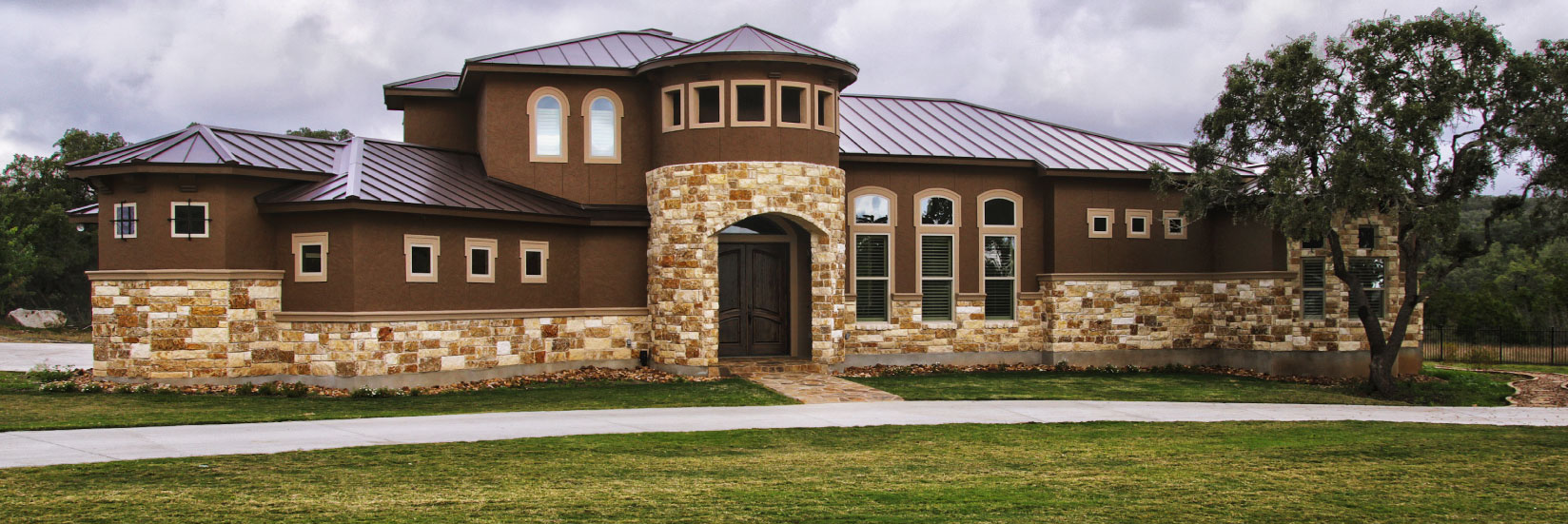 Custom home builder new braunfels san antonio hill for Hill country classic homes