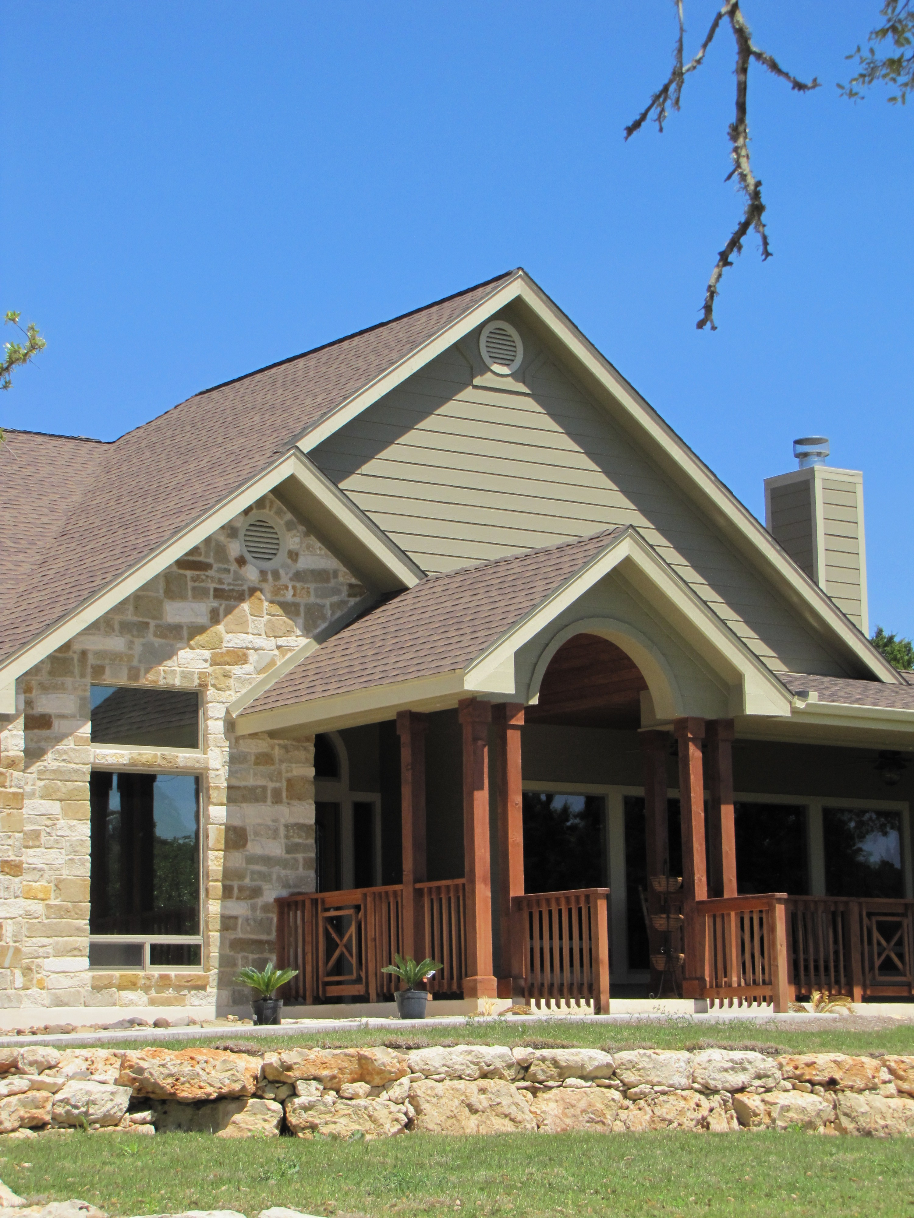 San antonio casual custom home river hills custom homes for Customize home
