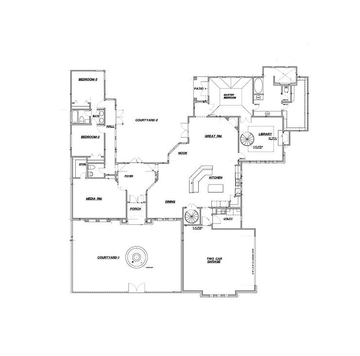 Custom Home Plan Design Ideas