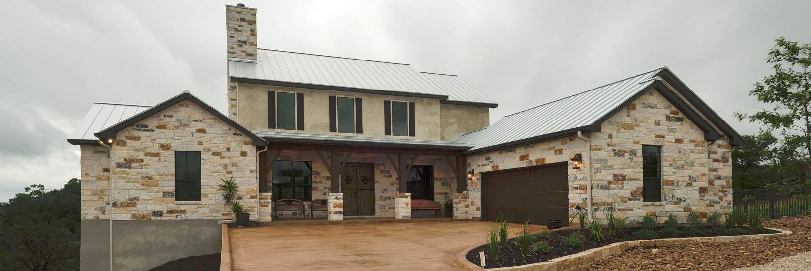 Custom home builder new braunfels san antonio hill for New build house designs