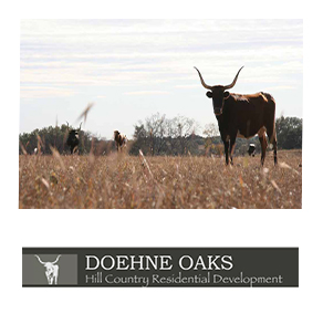 Each tract in Doehne Oaks is designed to maximize its unique attributes. The property is of a historical nature and features a historical cemetery, original rock walls, an original smokehouse, old ranch barns and a farmhouse that was built in the early 1800's.