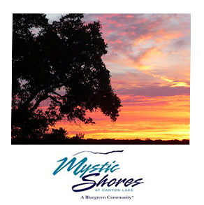 Mystic Shore is a beautiful subdivision where the Guadalupe River feeds into Canyon Lake.