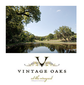 There are several neighborhoods within Vintage Oaks, including the The Reserve, Champagne Hills, Silver Oaks and Vineyard Ranch.  Vintage Oaks features 1 to 14 acre home sites that offer stunning hill country views and century old oak trees.
